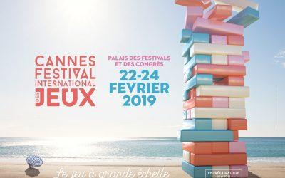 Salon des jeux de Cannes, nous y serons !