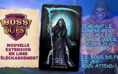 Carte Faucheuse Boss Quest en téléchargement